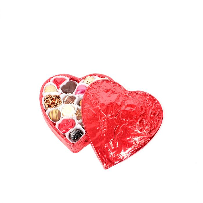Large Chocolate Heart Box