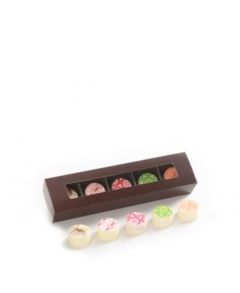 Truffle Slider Box White Assortment