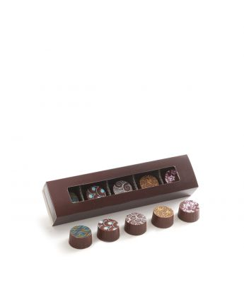 Truffle Slider Box Dark Assortment