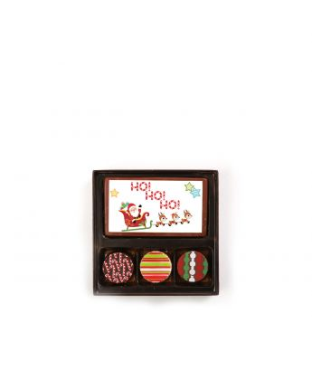 Santa & Reindeer 3 Piece Assortment
