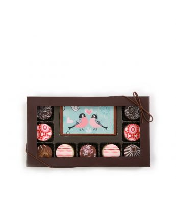 Love Struck Birds 9 Piece Assortment