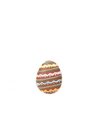 Flat Decorated Egg