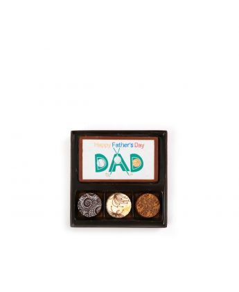 Happy Father's Day Sports 3 Piece Assortment