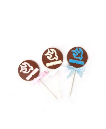 Baptism Dove Lollipops