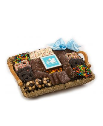 It's A Boy Tray Basket