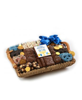 chanukah tray basket