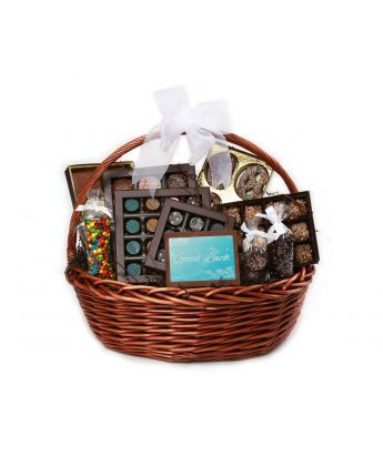 Good Luck Gift Basket
